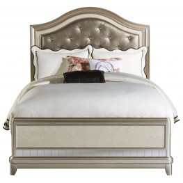 Li'l Diva Full Upholstered Panel Bed