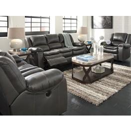Long Knight Gray Power Reclining Living Room Set