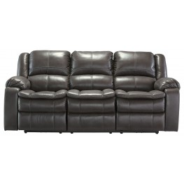 Long Knight Gray Power Reclining Sofa