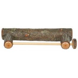 Hickory Wall-Mounted Paper Towel Holder