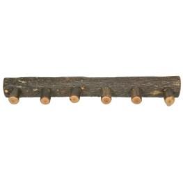 """Hickory 48"""" Wall Coat Rack"""