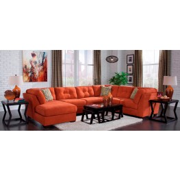 Delta City Rust LAF Sectional
