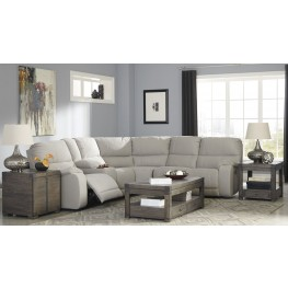 Bohannon Putty Power Reclining Sectional