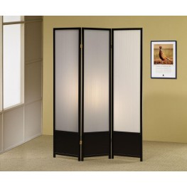 Black Folding Screen 900120
