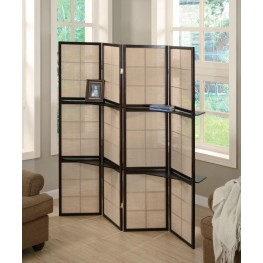Cappuccino Folding Screen 900166