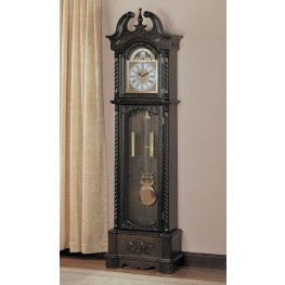 Brown Grandfather Clock 900721