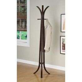 Cappuccino Coat Rack 900816
