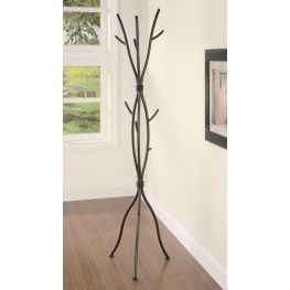 Brown Coat Rack 900864