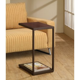 901007 Dark Brown Snack Table