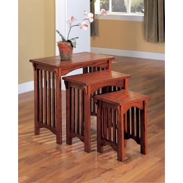 Oak Large Nesting Table 901049