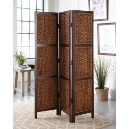 Natural Honey Folding Screen