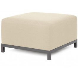 Axis Sterling Sand Ottoman Slipcover