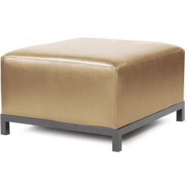 Axis Shimmer Gold Ottoman Slipcover