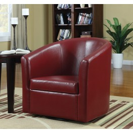 Red Swivel Chair