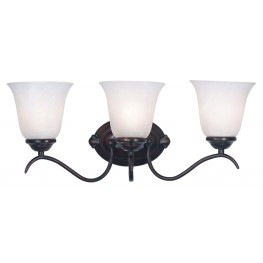 Medusa Oil Rubbed Bronze 3 Light Vanity
