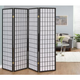 Grey Folding Screen