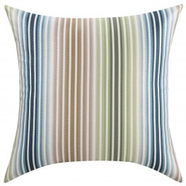 Multi-Color Thin Stripes Accent Pillow Set of 2