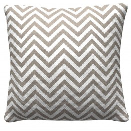 905311 Warm Grey Chevron Pillows