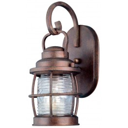 Beacon Gilded Copper Small Wall Lantern