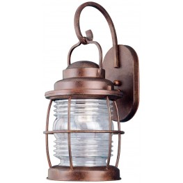 Beacon Gilded Copper Large Wall Lantern