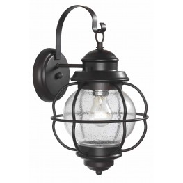 Hatteras Gilded Copper Medium Wall Lantern