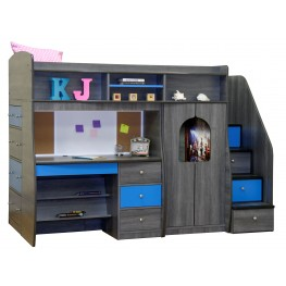 Play & Study Twin Loft Bed