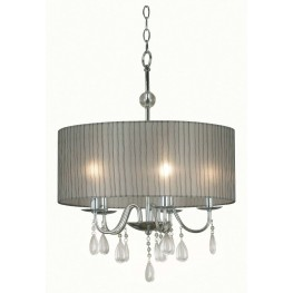 Arpeggio Chrome 5 Light Pendant