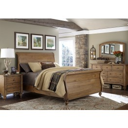 Southern Pines II Sleigh Bedroom Set