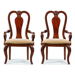 Evolution Queen Anne Arm Chair Set of 2