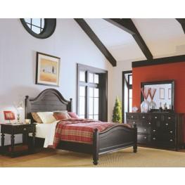 Camden Black Panel Bedroom Set