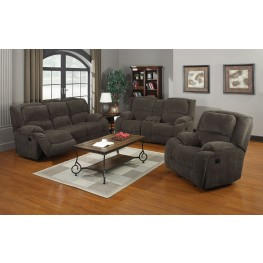 Caesar Nimbus Seal Reclining Living Room Set