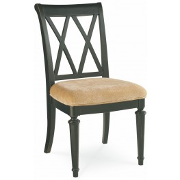 Camden Black Splat Side Chair