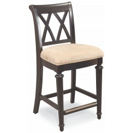 Camden Black Counter Height Stool