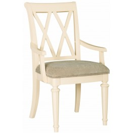 Camden Buttermilk Splat Arm Chair