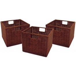 Leo Small Wired Baskets Set of 3