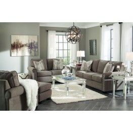 Gilman Charcoal Living Room Set