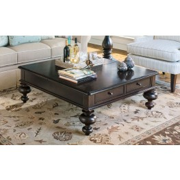 Paula Deen Home Tobacco Put Your Feet Up Table