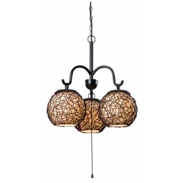 Castillo 3 Light Outdoor Chandelier