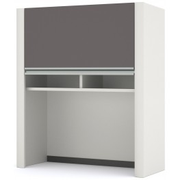 "Connexion Slate Gray & Sandstone Cabinet for 30"" Lateral File"