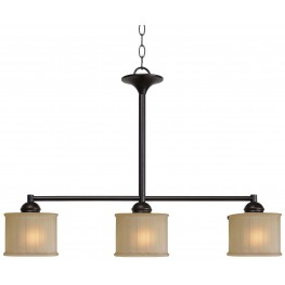 Barney Oil Rubbed Bronze 3 Light Island