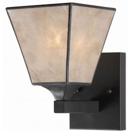 Capell Oil Rubbed Bronze 1 Light Sconce