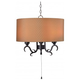Clairmont Oil Rubbed Bronze 3 Light Outdoor Pendant