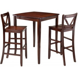 Inglewood 3 Piece Counter Height Dining Set