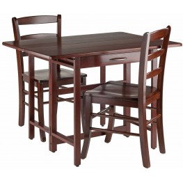 Taylor 3 Piece Drop Leaf Extendable Dining Set