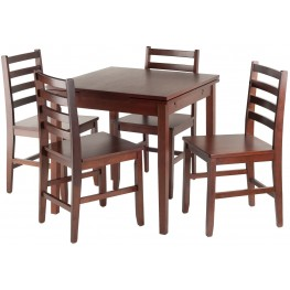 Pulman 5 Piece Extendable Dining Set