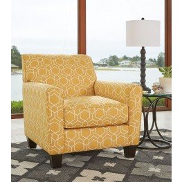 Ayanna Nuvella Gold Accent Chair