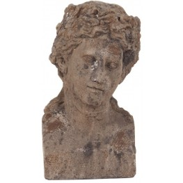 Ancient Roman Old World Male Ceramic Bust II
