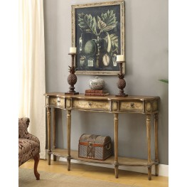 Light Brown Console Table
