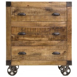 Natural 3 Drawer Accent Cabinet by Donny Osmond