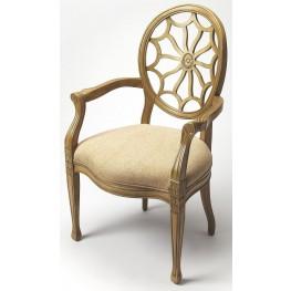 Allison Cappuccino Accent Chair